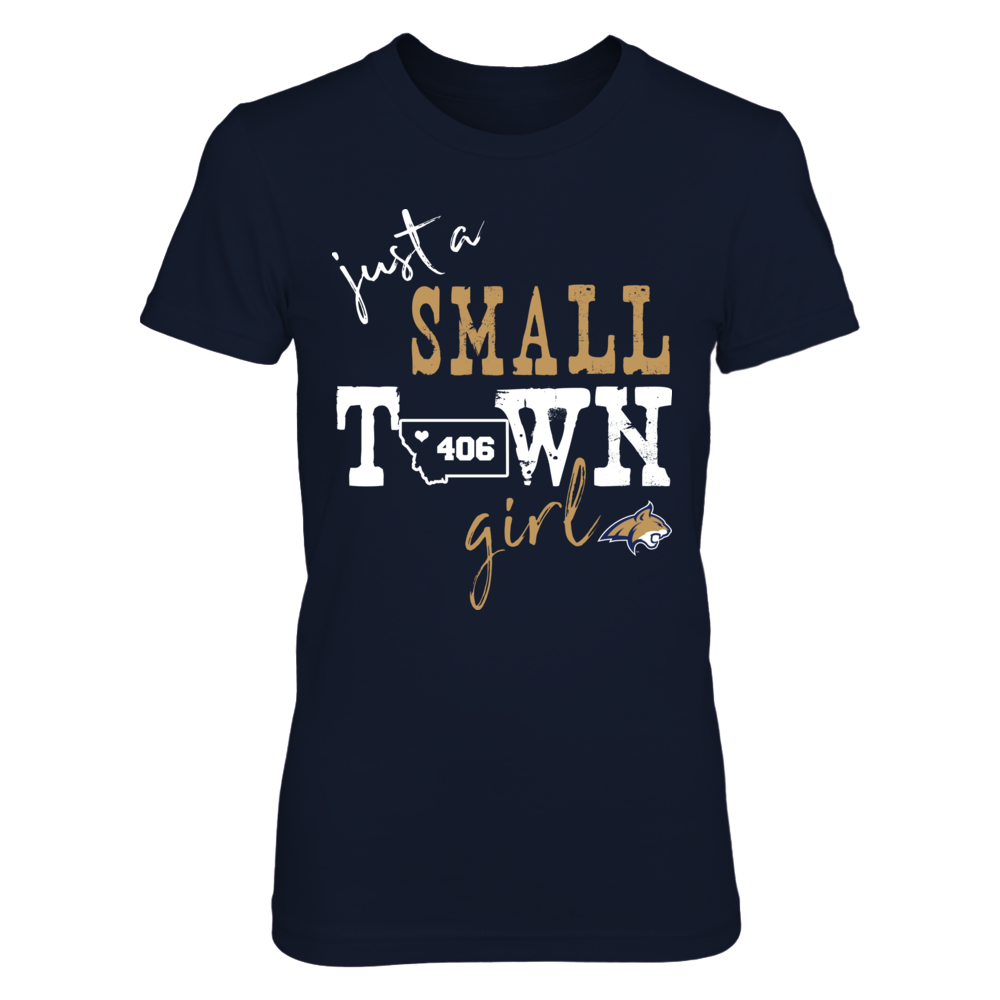 Montana State Bobcats - Small Town Girl - Area Code Front picture