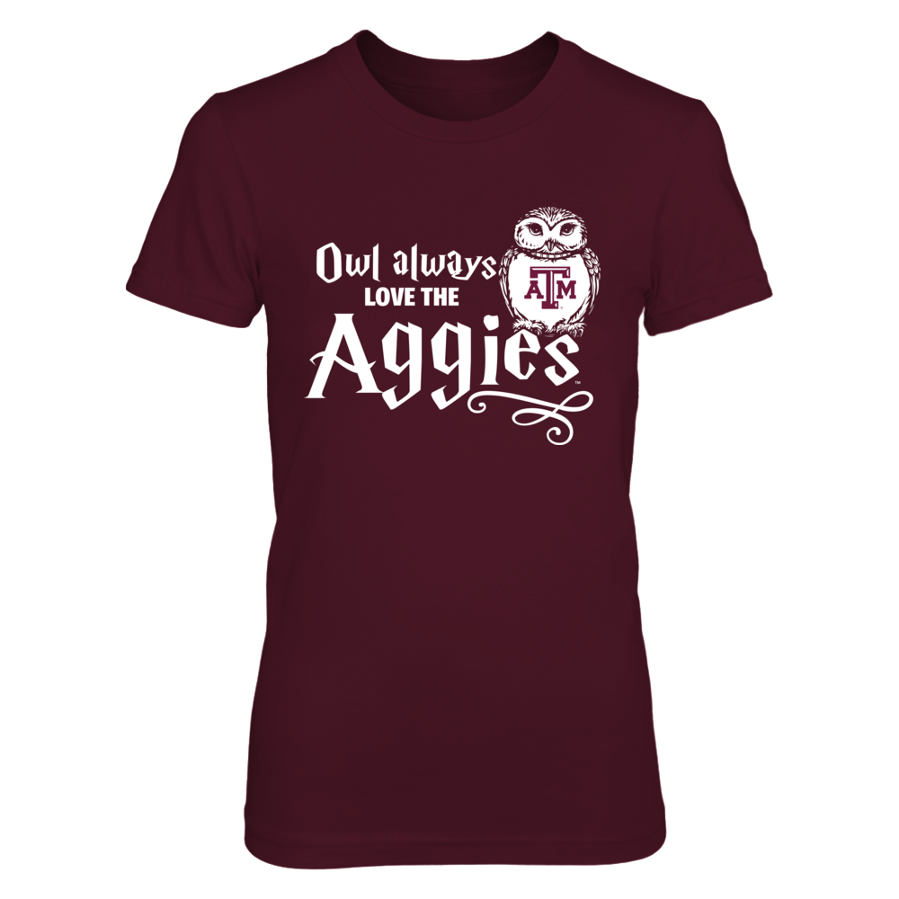 Texas A&M Aggies - Owl always - HP Front picture