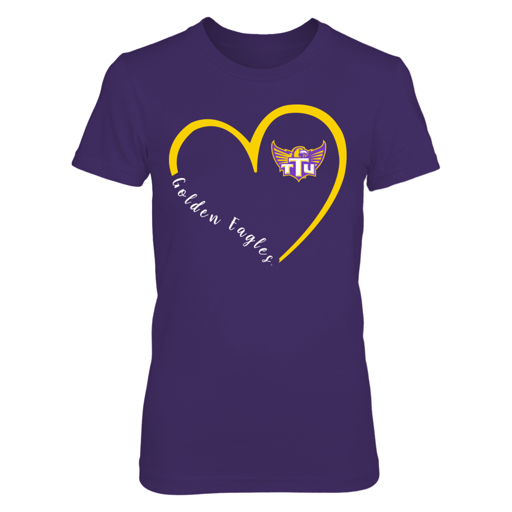 Tennessee Tech Golden Eagles - Heart 3/4 Front picture
