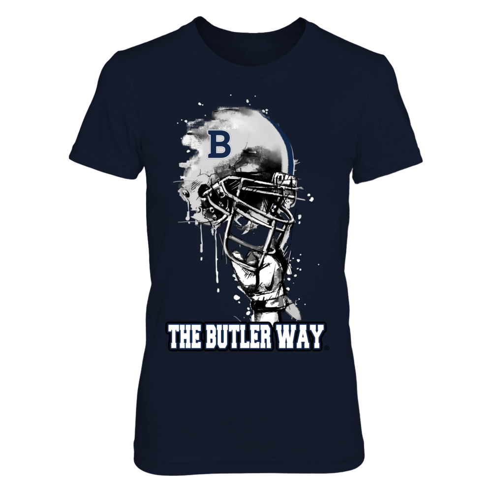 Butler Bulldogs - Rising Helmet Front picture