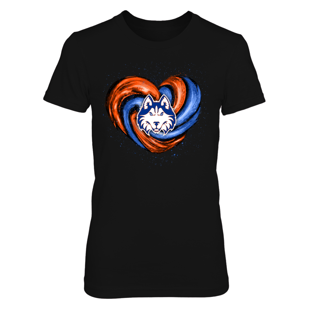 Houston Baptist Huskies - Hurricane Heart - Original Front picture
