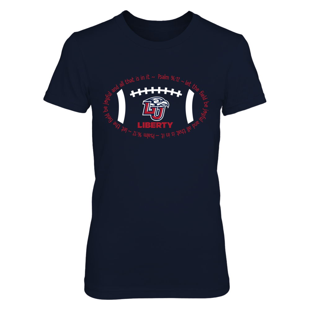 Liberty Flames - Football sigh Front picture