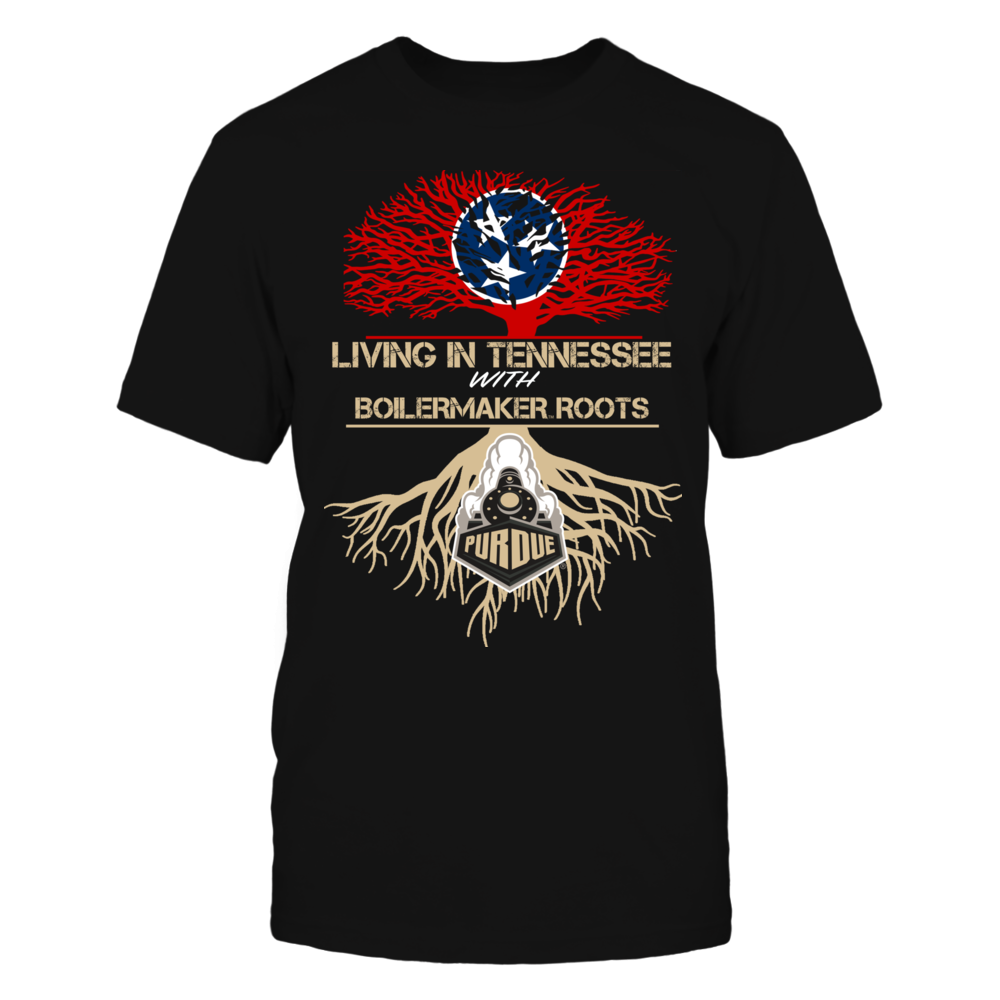 Purdue Boilermakers - Living Roots Tennessee Front picture