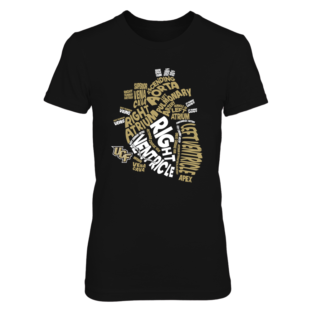 UCF Knights - Anatomical Heart - Nurse Front picture
