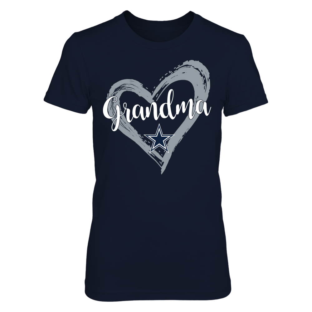 Dallas Cowboys - Drawing Heart - Grandma Front picture