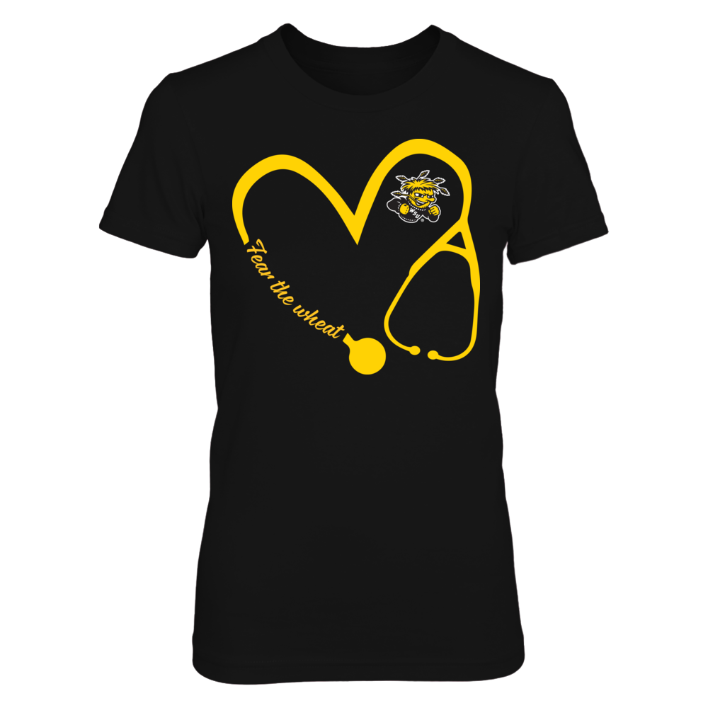 Wichita State Shockers - Heart 3/4 - Nurse Front picture