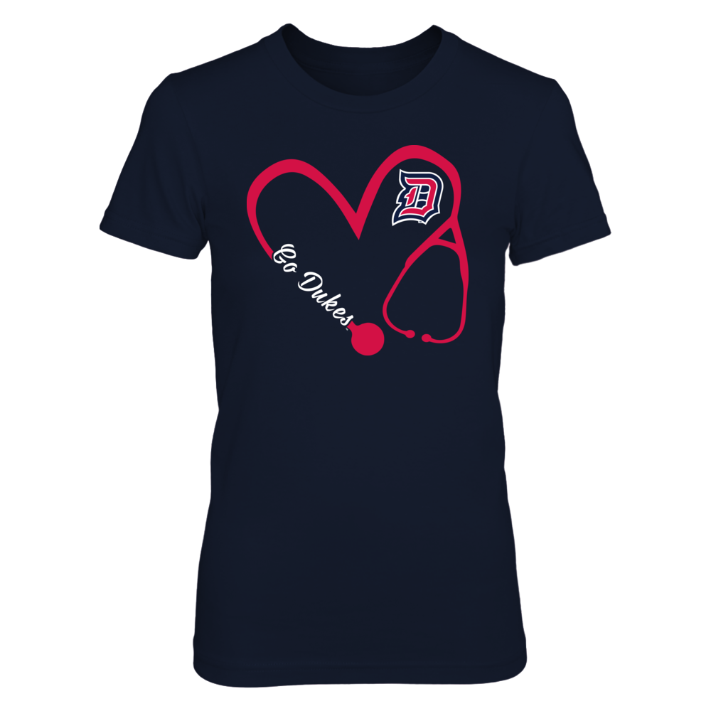 Duquesne Dukes - Heart 3/4 - Nurse Front picture