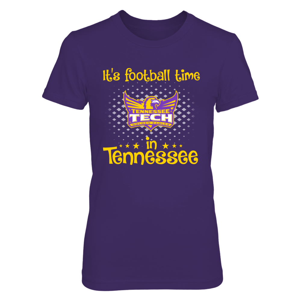 Tennessee Tech Golden - Footbal time - T Front picture