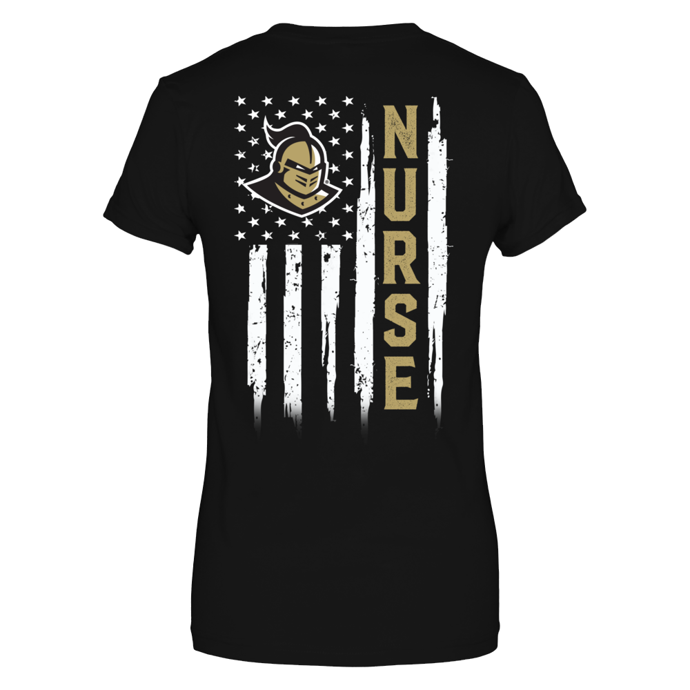 UCF Knights - Flag Shirt - Nurse Back picture