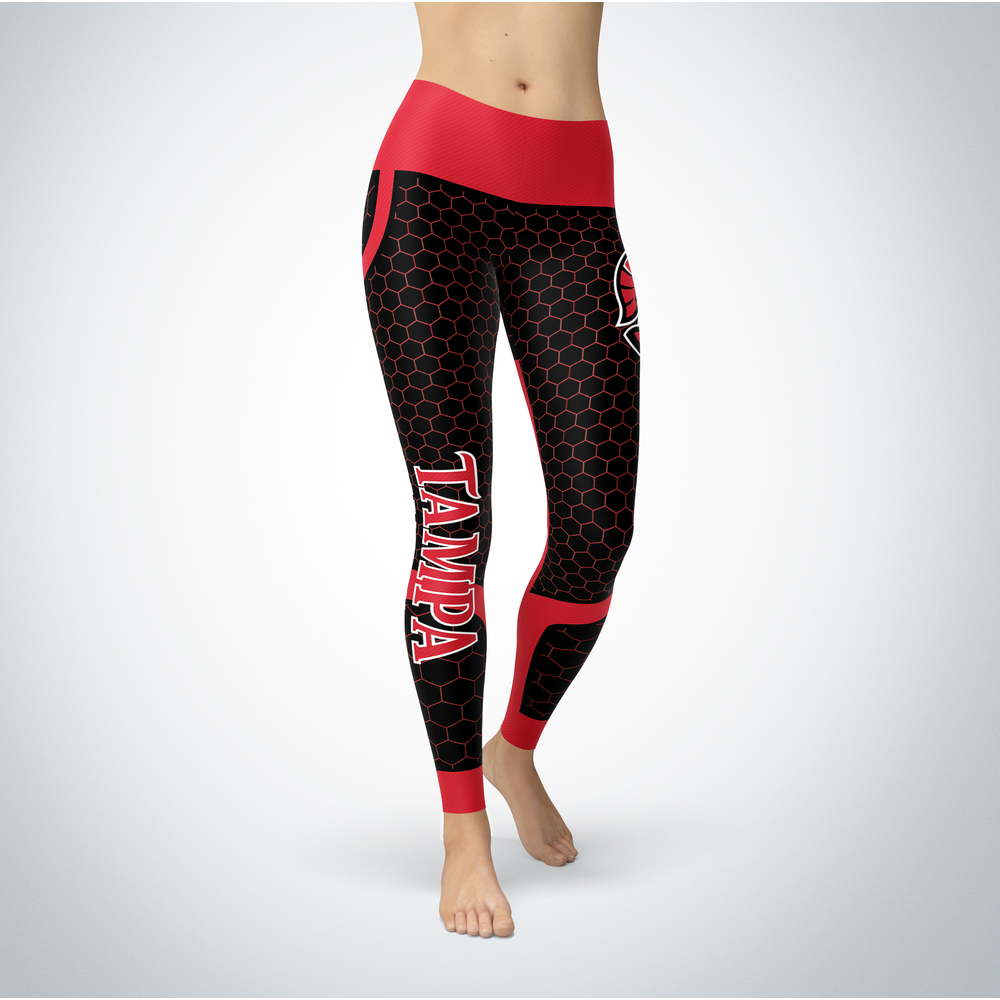 Sporty Design - Tampa Spartans Leggings Front picture