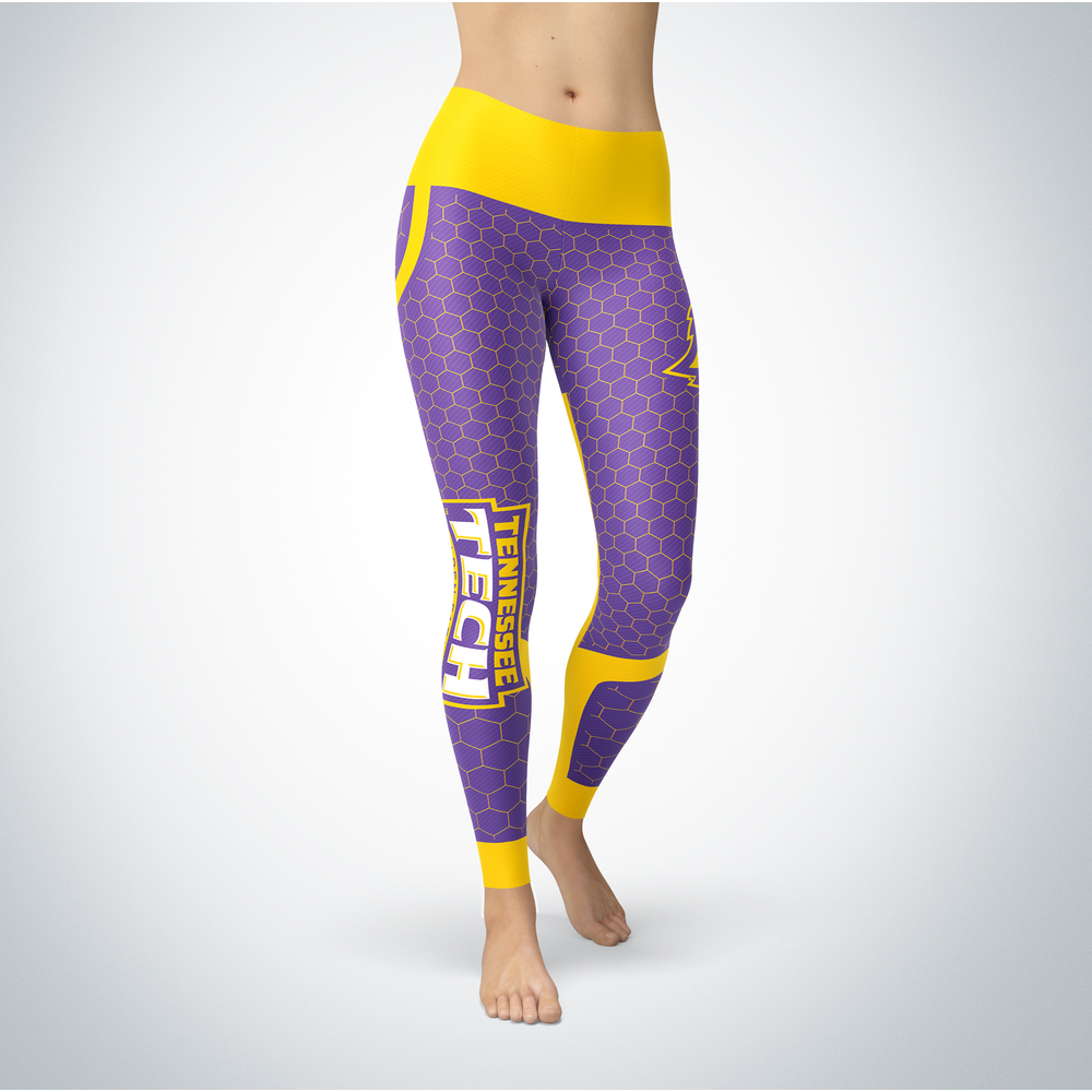 Sporty Design -Tennessee Tech Golden Eagles Leggings Front picture