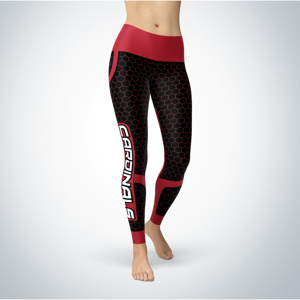Sporty Design - Saginaw Valley State Cardinals Leggings Front picture