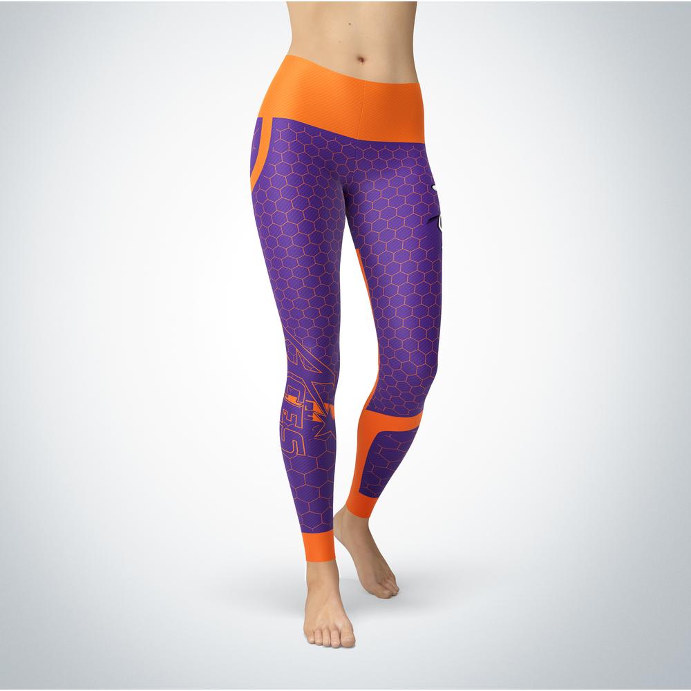 Sporty Design - Evansville Purple Aces Leggings Front picture