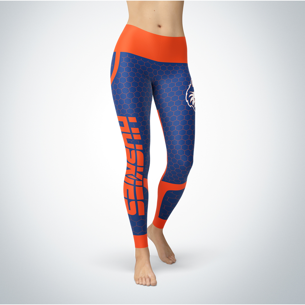 Sporty Design - Houston Baptist Huskies Leggings Front picture