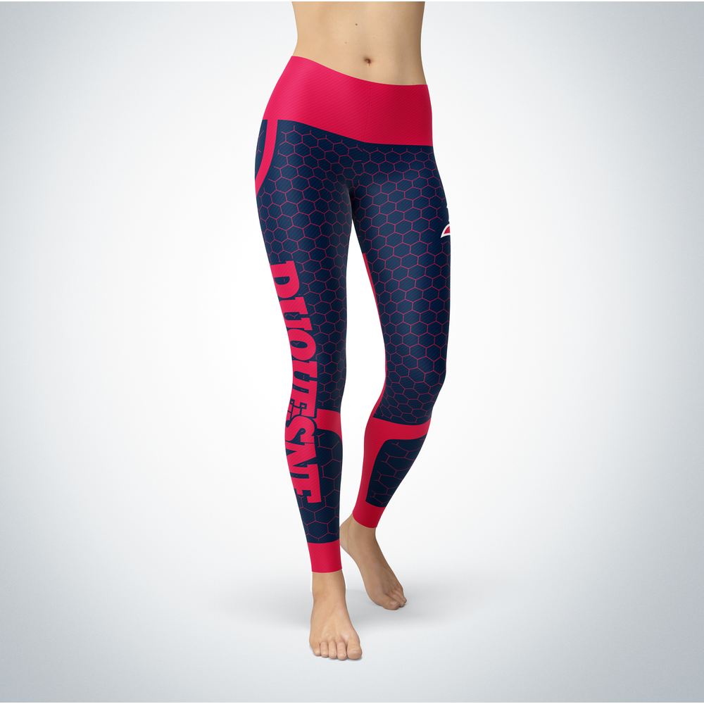 Sporty Design - Duquesne Dukes Leggings Front picture