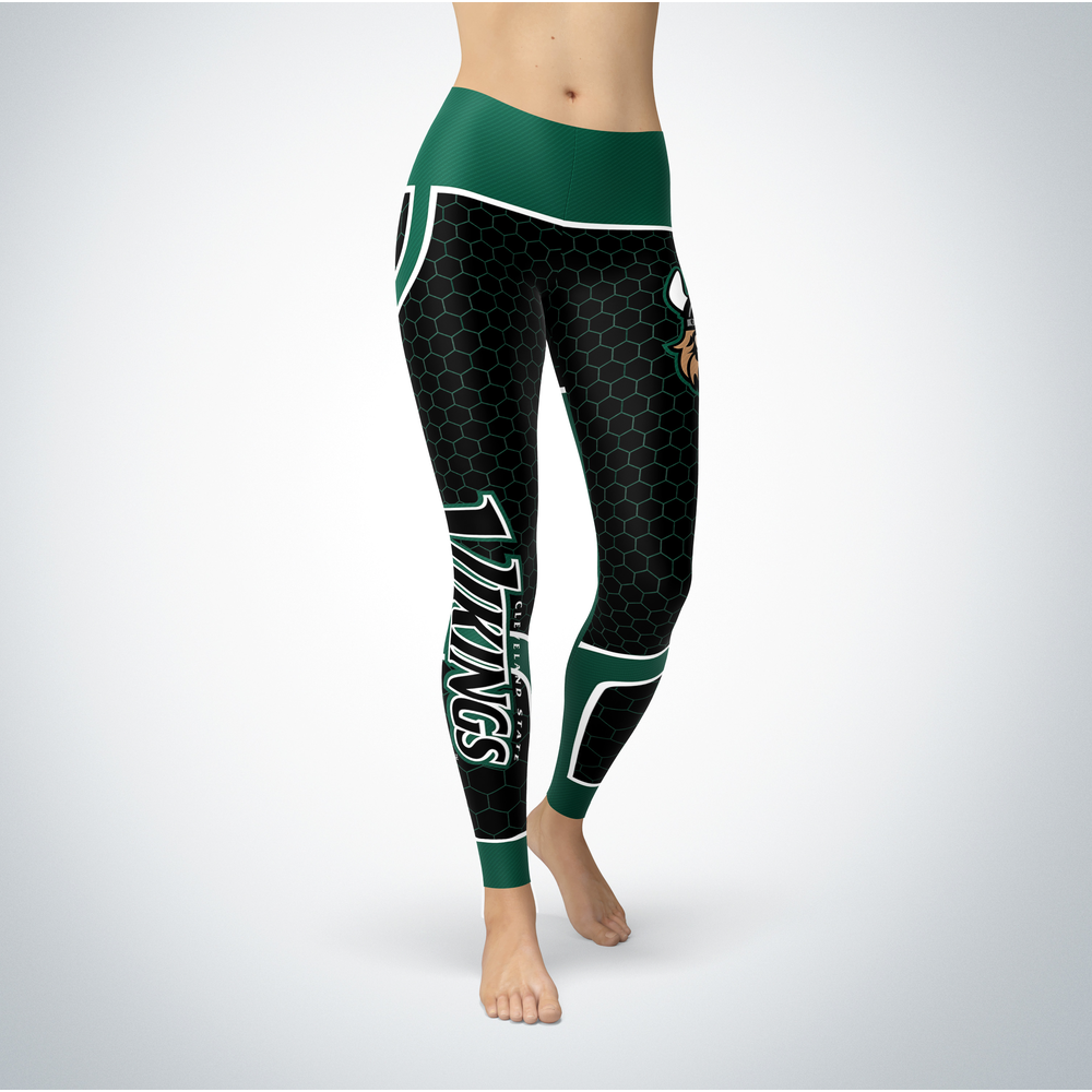 Sporty Design - Cleveland State Vikings Leggings Front picture