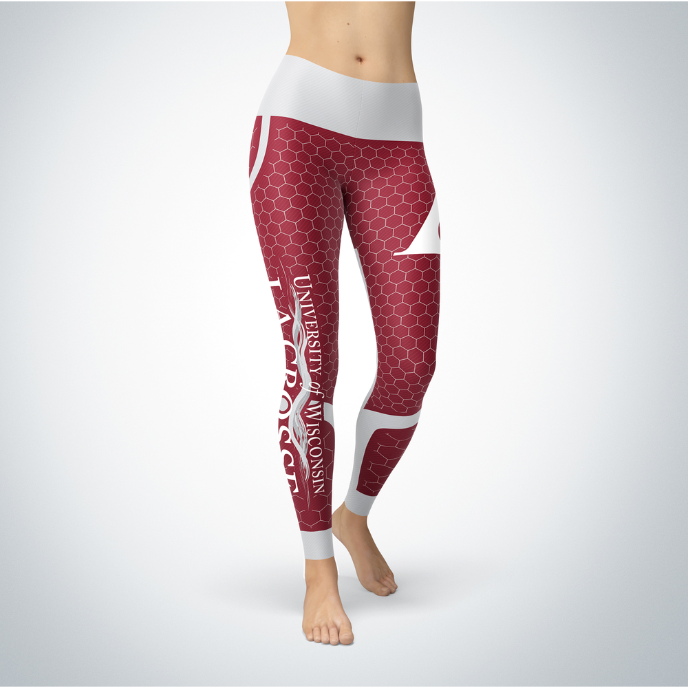 Sporty Design - Wisconsin-La Crosse Eagles Leggings Front picture