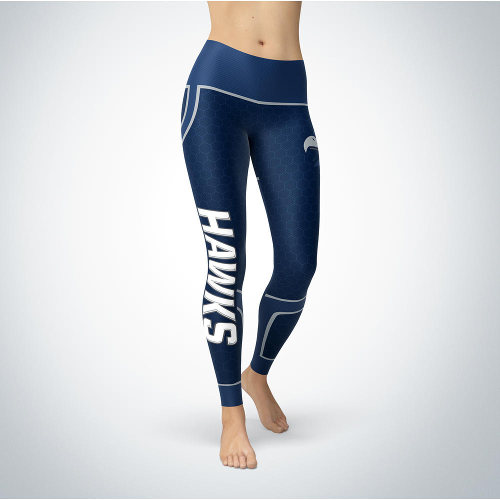 Sporty Design - Monmouth Hawks Leggings Front picture