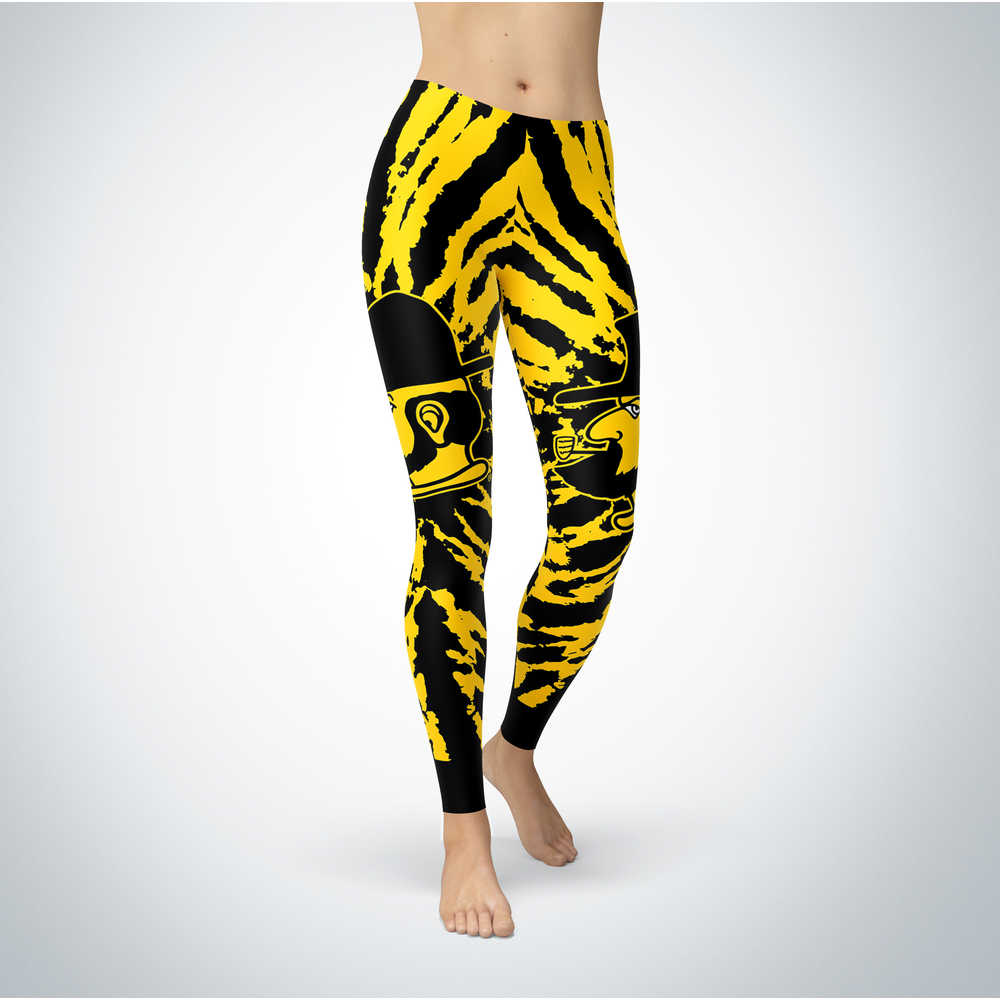 Tie Dye Design - Appalachian State Mountaineers Leggings Front picture