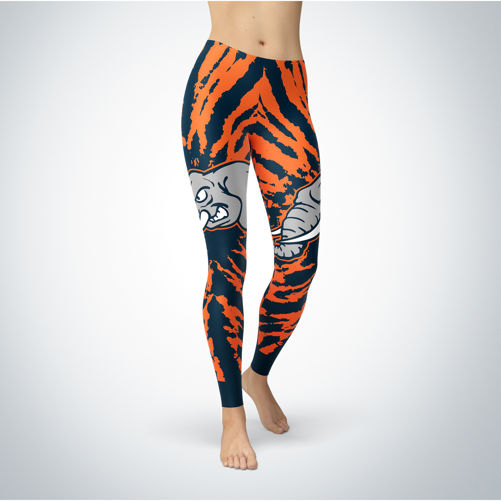Tie Dye Design - Cal State Fullerton Titans Leggings Front picture