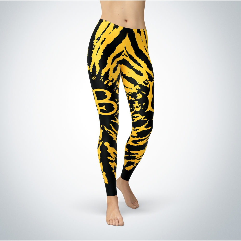 Tie Dye Design - Long Beach State 49ers Leggings Front picture