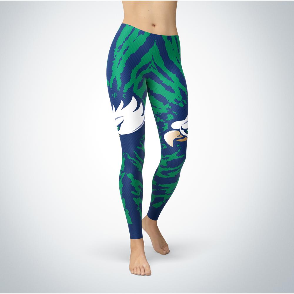 Tie Dye Design - Florida Gulf Coast Eagles Leggings Front picture