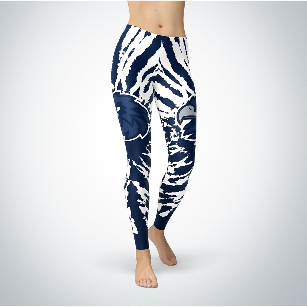 Tie Dye Design - Monmouth Hawks Leggings Front picture