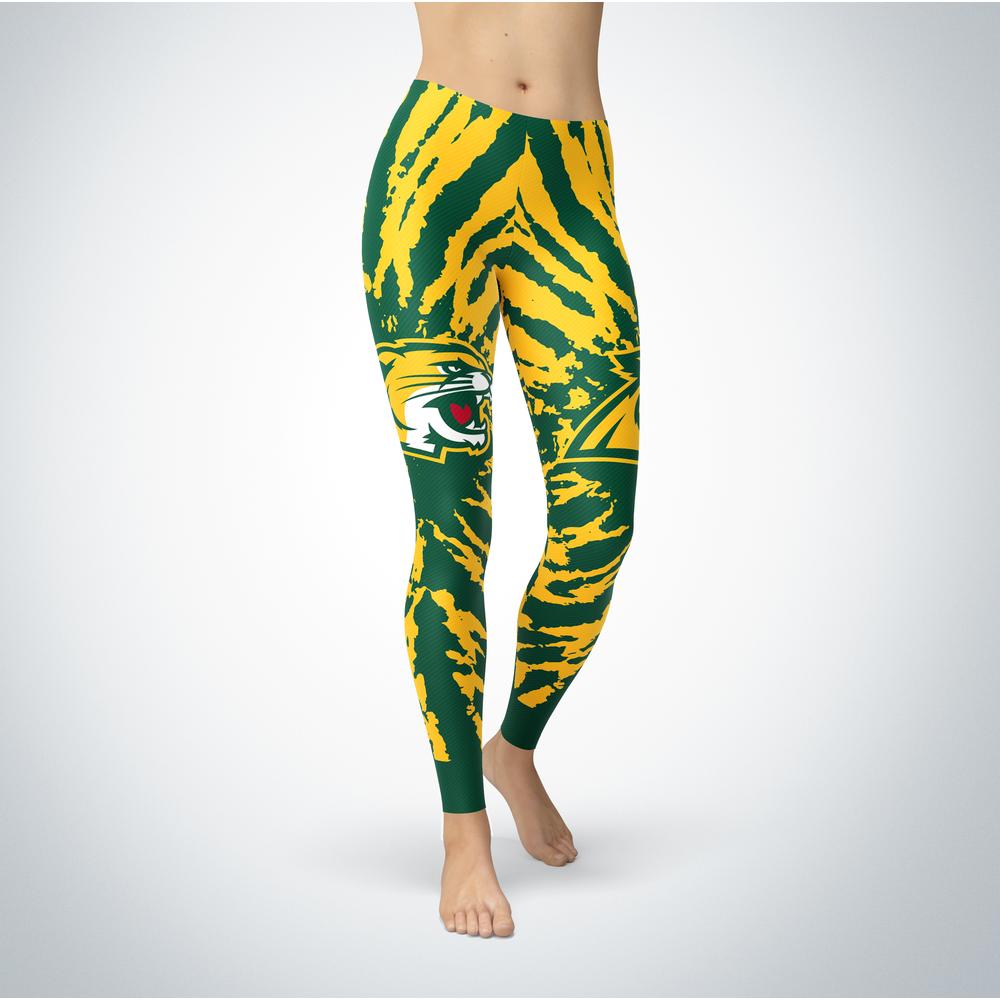 Tie Dye Design - Northern Michigan Wildcats Leggings Front picture