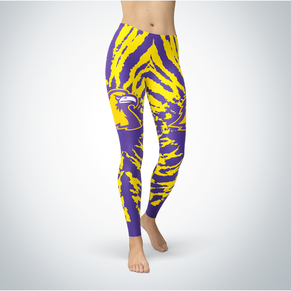 Tie Dye Design - Tennessee Tech Golden Eagles Leggings Front picture