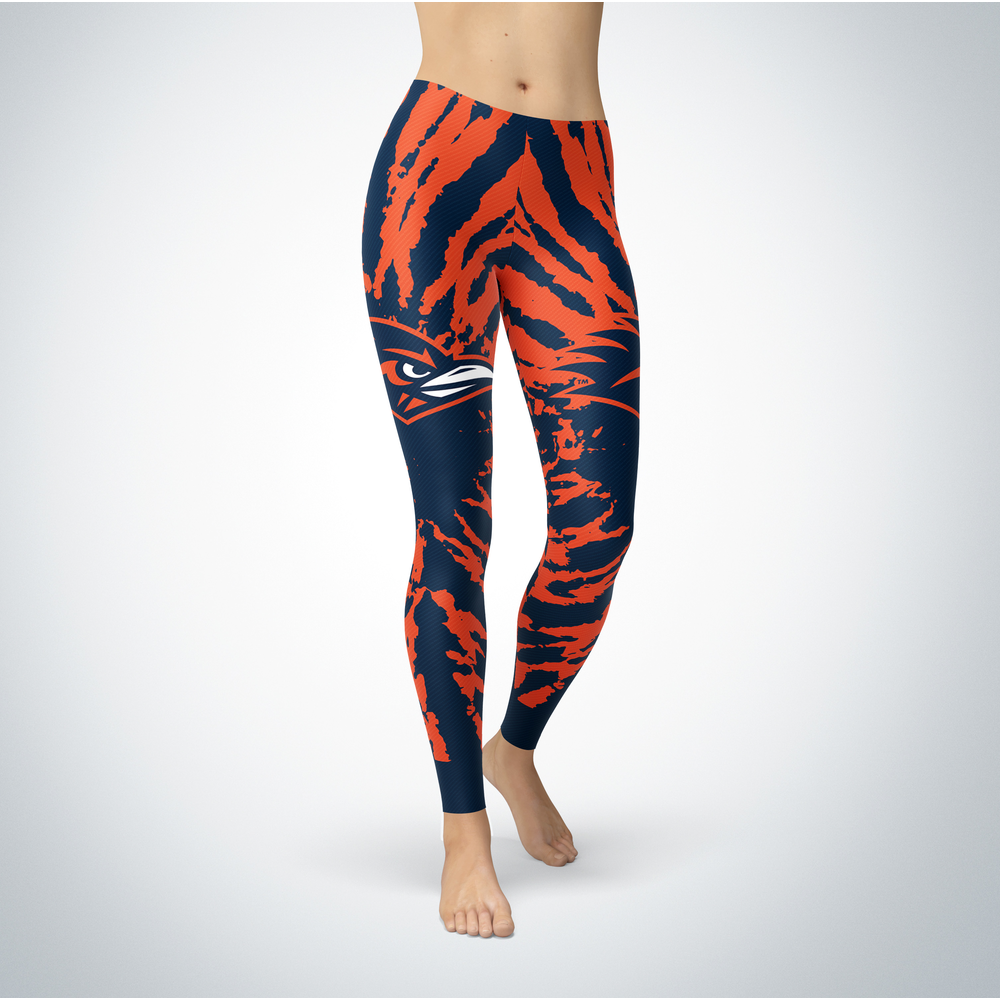 Tie Dye Design - UTSA Roadrunners Leggings Front picture