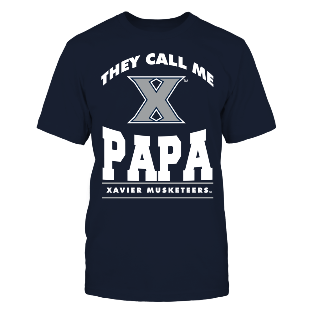 They Call Me Papa - Xavier Musketeers Front picture