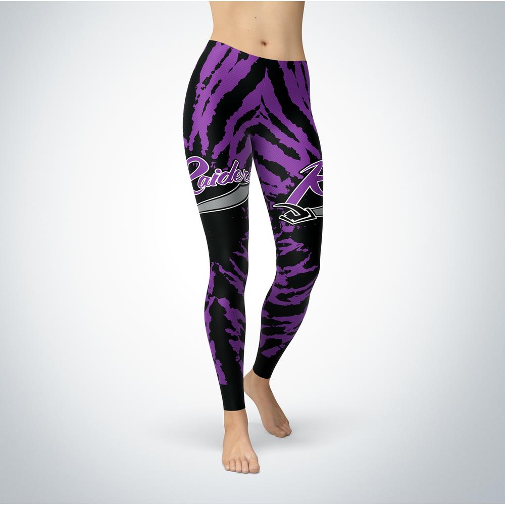 Tie Dye Design - Mount Union Raiders Leggings Front picture