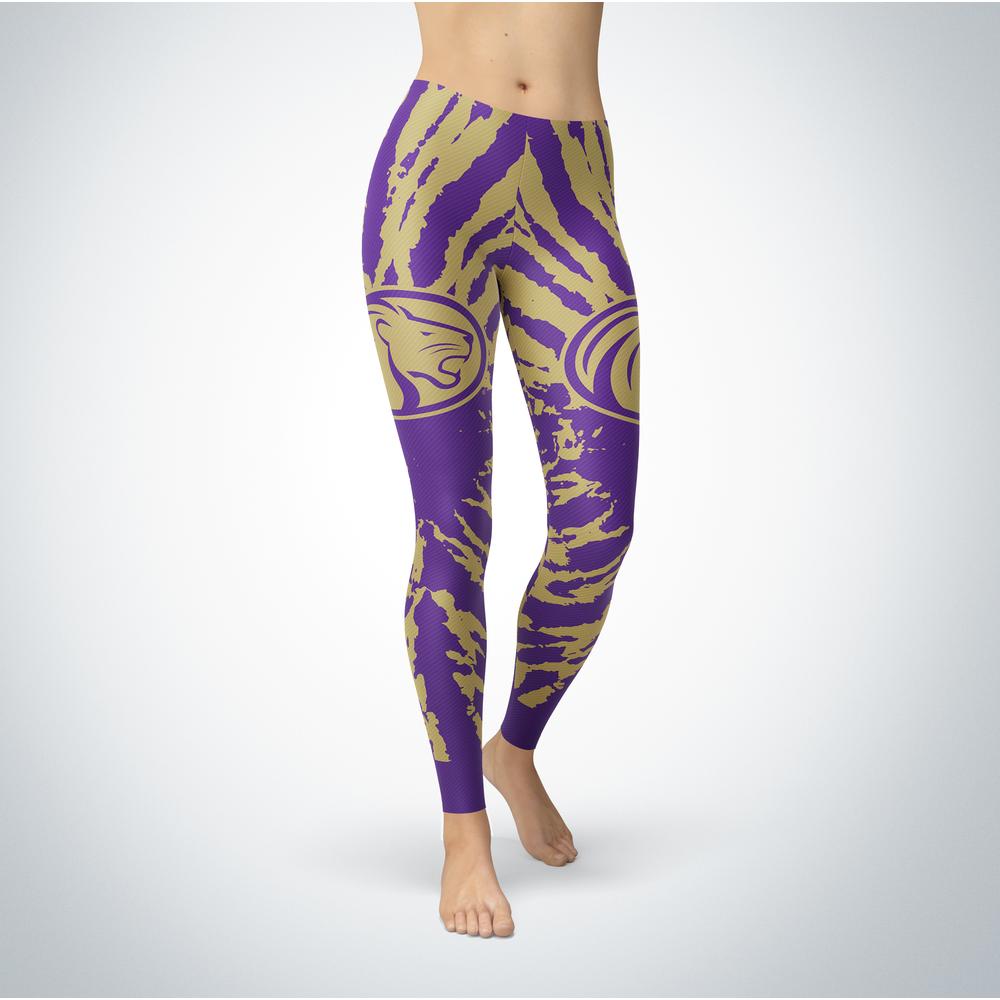 Tie Dye Design - North Alabama Lions Leggings Front picture