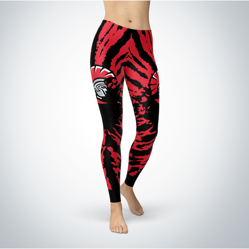 Tie Dye Design - Tampa Spartans Leggings Front picture
