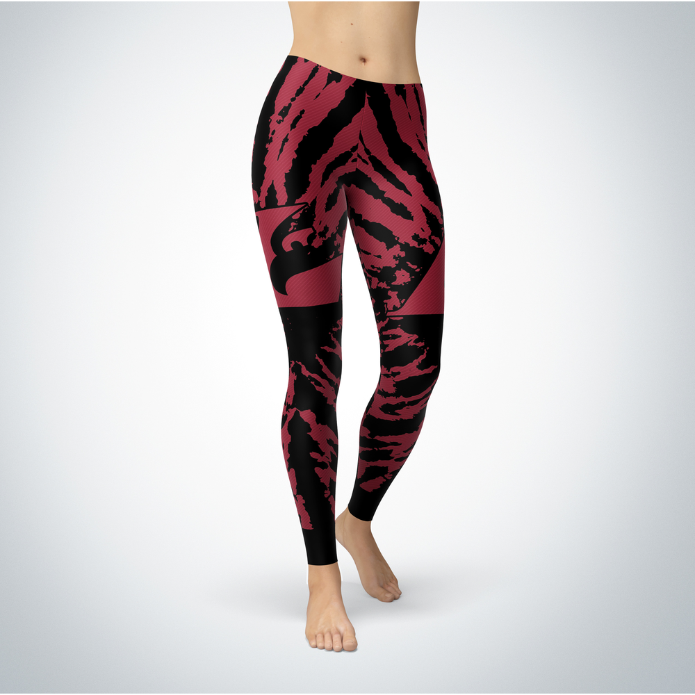 Tie Dye Design - Wisconsin-La Crosse Eagles Leggings Front picture