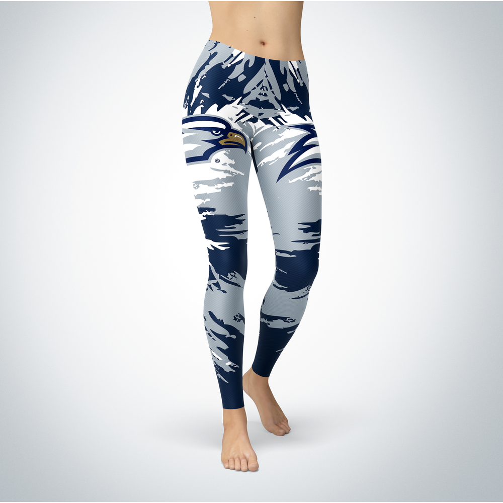 Watercolor Design - Georgia Southern Eagles Leggings Front picture
