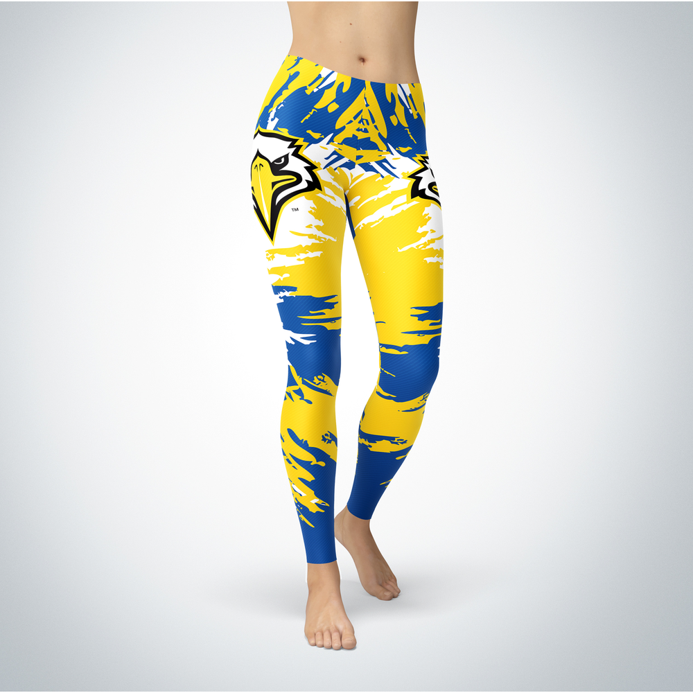 Watercolor Design - Morehead State Eagles Leggings Front picture