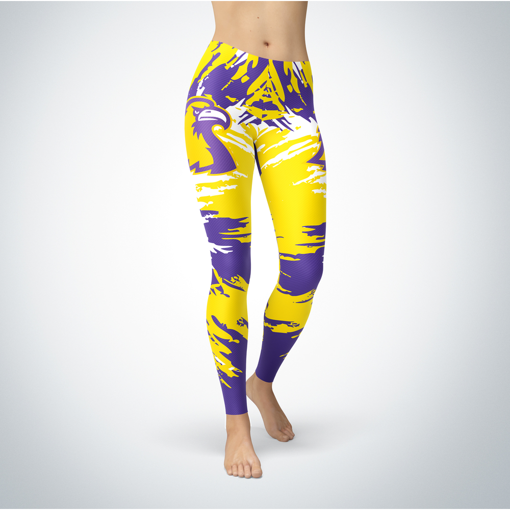 Watercolor Design - Tennessee Technological University Leggings Front picture
