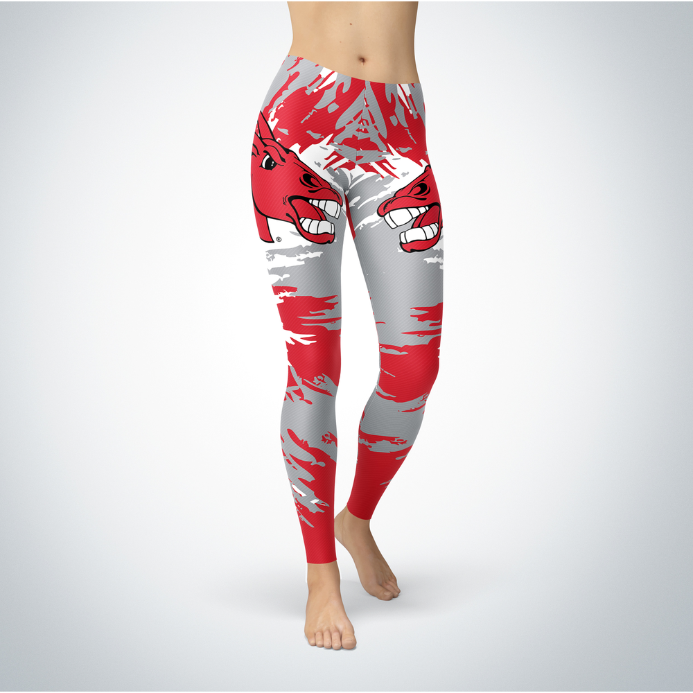 Watercolor Design - University of Central Missouri Leggings Front picture