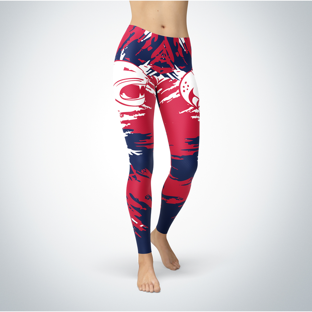 Watercolor Design - University of South Alabama Leggings Front picture