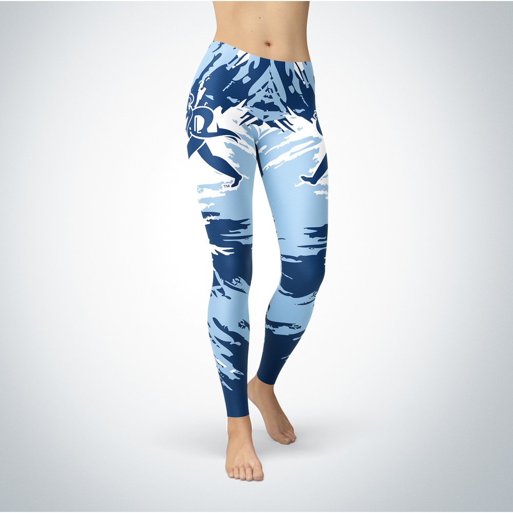 Watercolor Design  - Washburn University Leggings Front picture