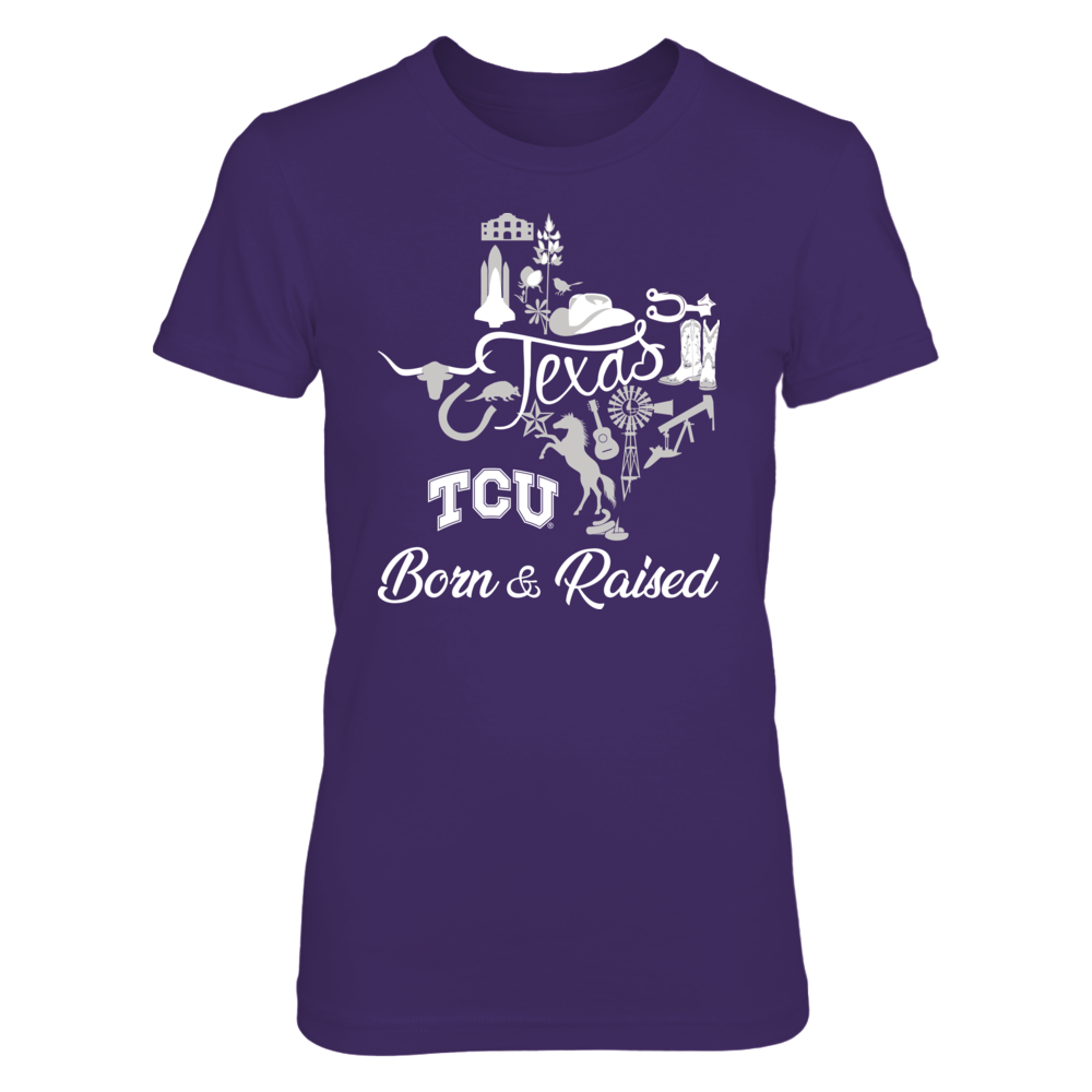 TCU Horned Frogs - Texas Things - Born And Raised Front picture