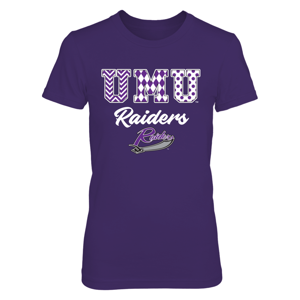 Mount Union Raiders - Patterned Letters Front picture