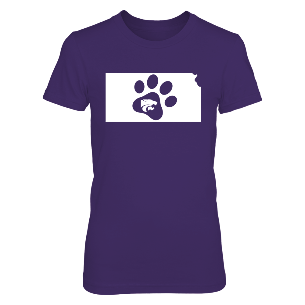 Kansas State Wildcats - Cat Paw Print Front picture