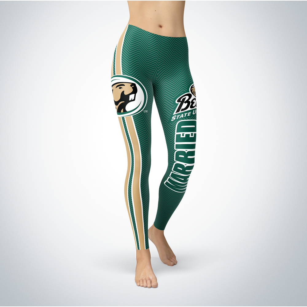 Married Design - Bemidji State University Leggings Front picture