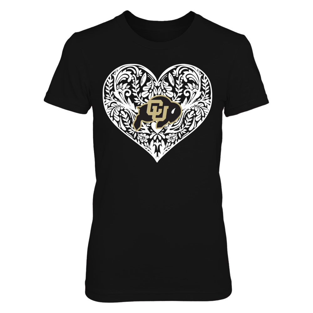 Colorado Buffaloes - Pattern Heart Front picture
