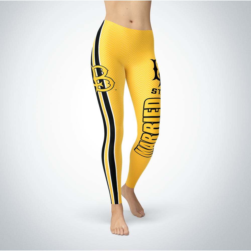 Married Design - Long Beach State 49ers Leggings Front picture