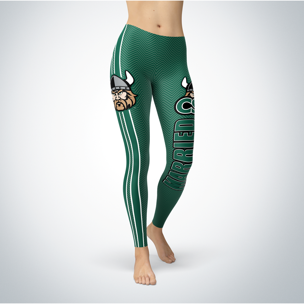 Married Design - Cleveland State Vikings Leggings Front picture