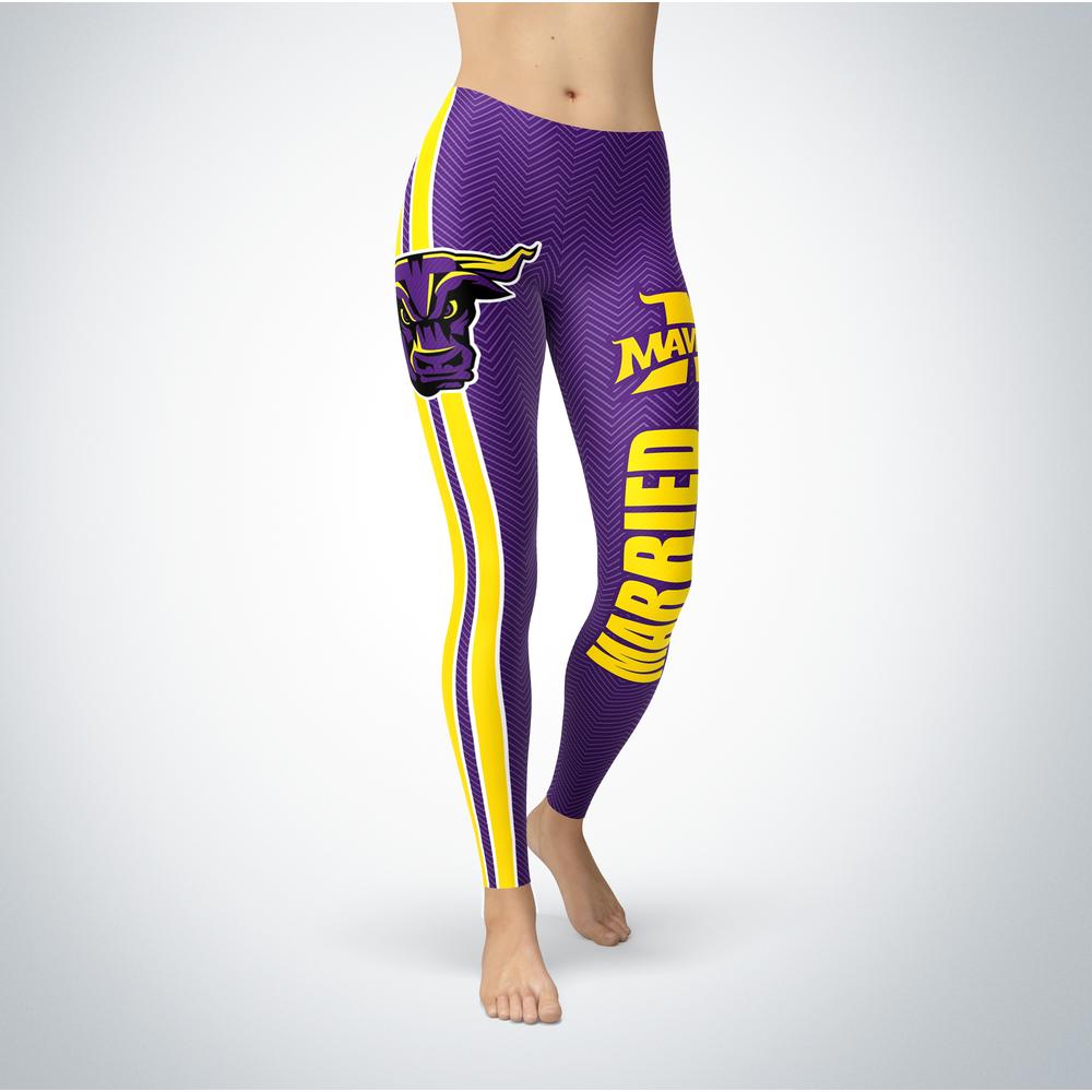 Married Design - Minnesota State Mavericks Leggings Front picture
