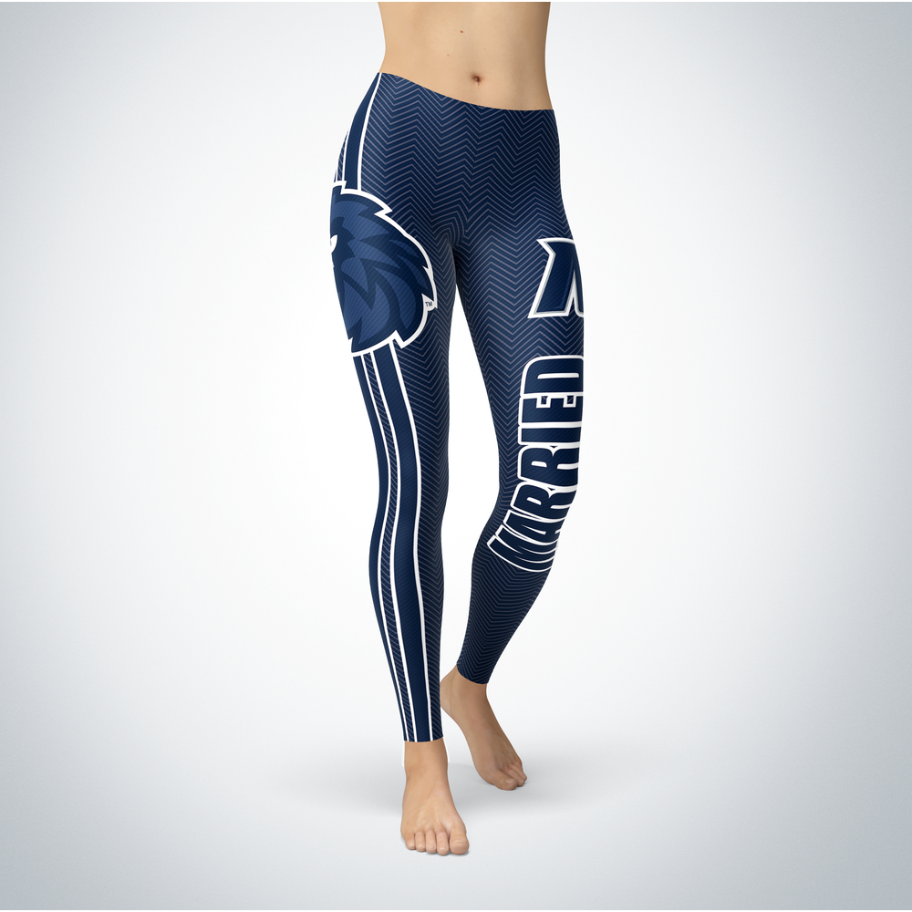 Married Design - Monmouth Hawks Leggings Front picture